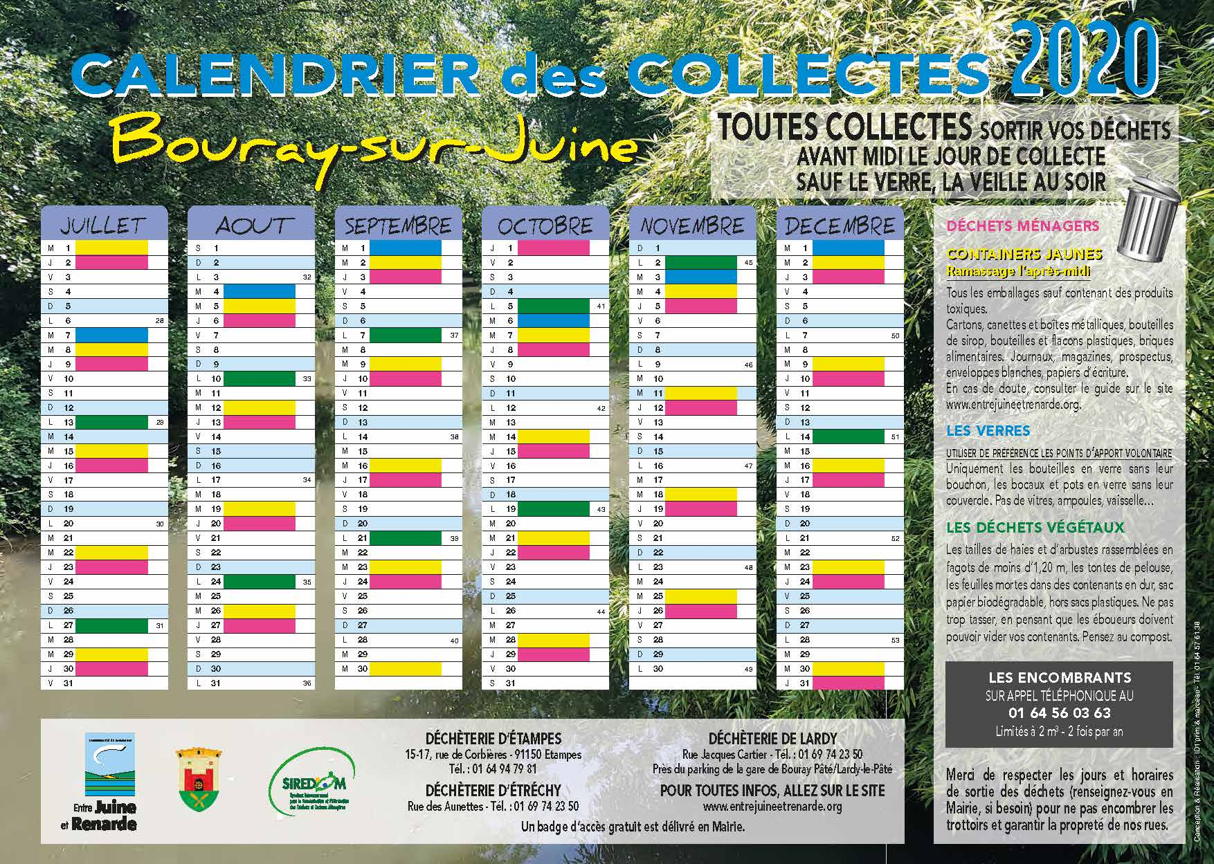 CCJR Calendrier Bouray sur Juine 2020 A4 Recto Verso Page 2
